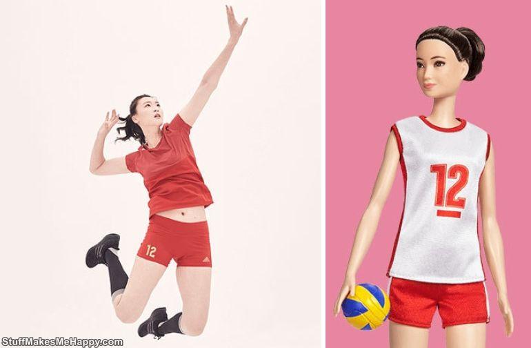 Hui Ruoqi, volleyball player