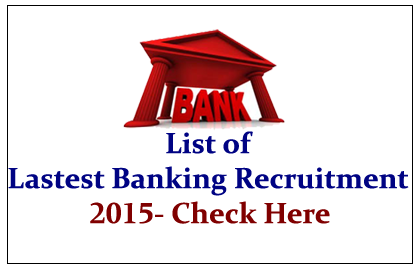 List of All Latest Banking Recruitment