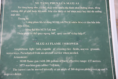 Features of the M132 Flamethrower