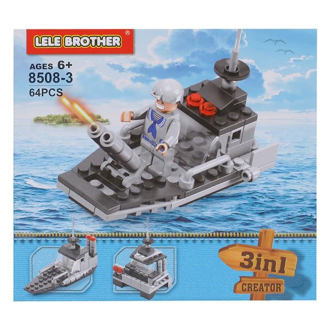 Bộ Lắp Ráp Warship Military