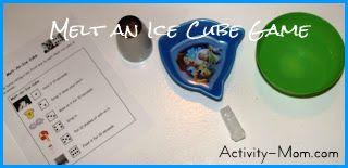 melt an ice cube game