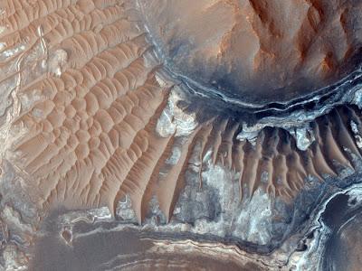 شاهد صور حقيقية ثلاثية الابعاد لكوكب المريخ   الكوكب الأحمر