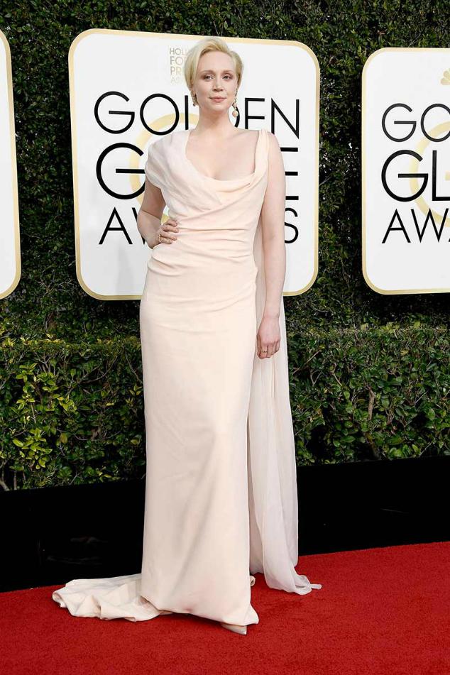 Gwendoline Christie  Golden Globes 2017