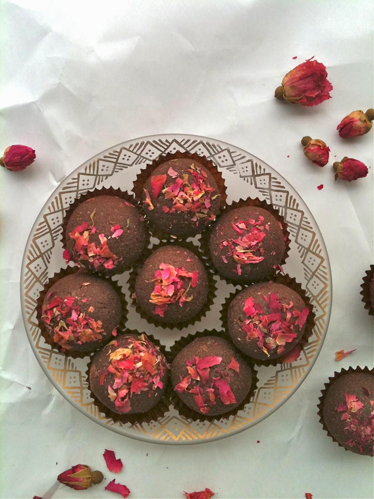 Passionately Raw! : Sensual Rose Petal Raw Chocolate ...
