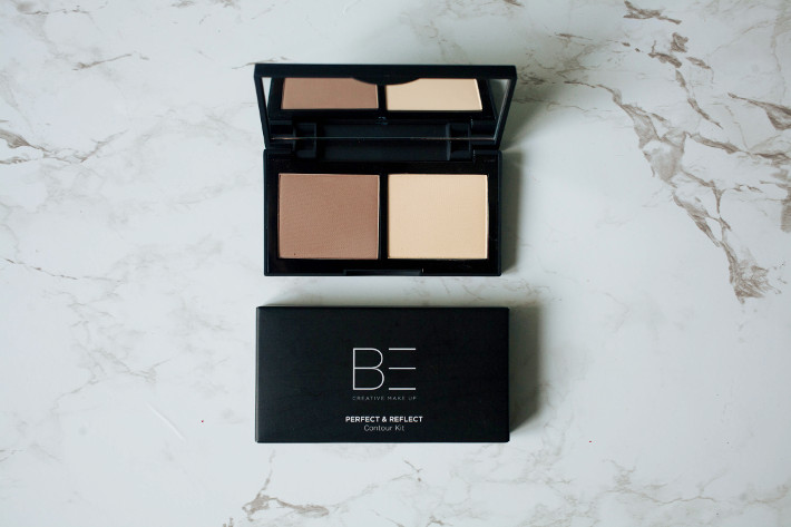 BE creative perfect & reflect contour kit: review