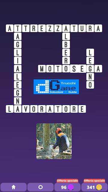 Soluzioni One Clue Crossword livello 15 schemi intermedia (Cruciverba illustrato)  | Parole e foto