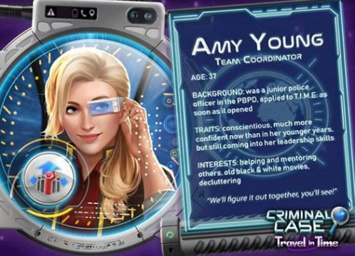 Exclusive Travel In Time Introducing Amy Young Criminal Case Free Energy Criminal Case Grimsborough Pacific Bay World Edition Mysteries Of The Past