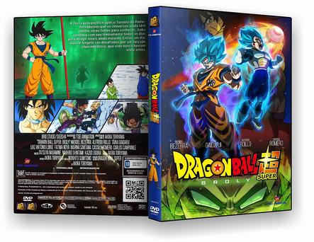 CAPA DVD – Dragon Ball Super- Filme Broly – ISO