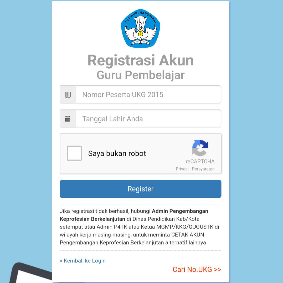 Cara Registrasi/Login Simpkb