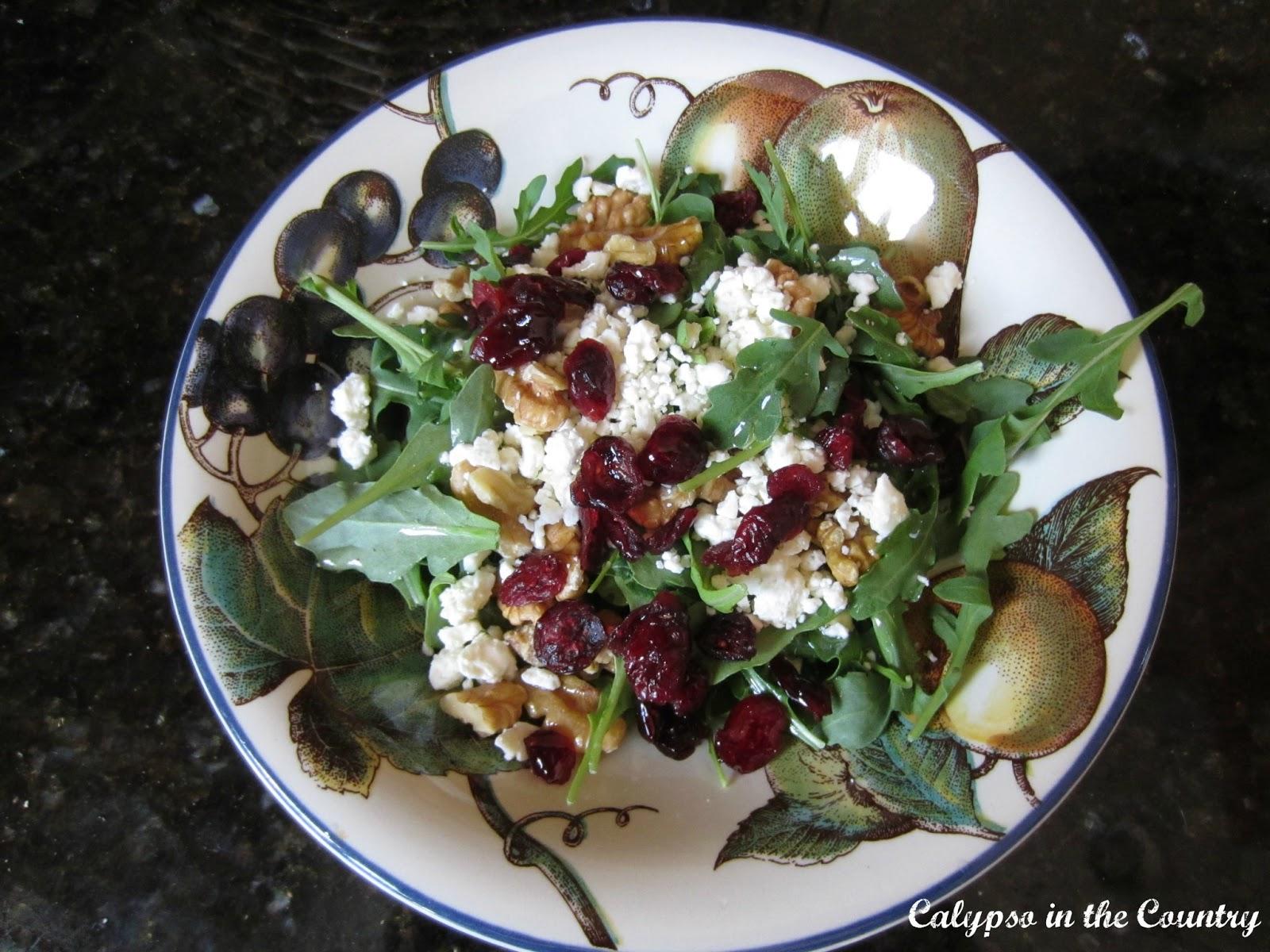 Cranberry and Arugula Salad