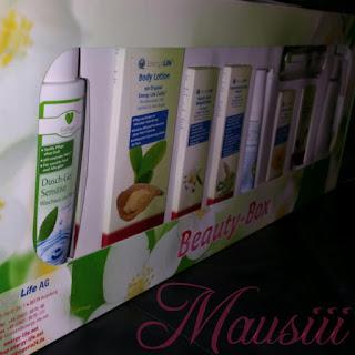 Beautybox verpackt