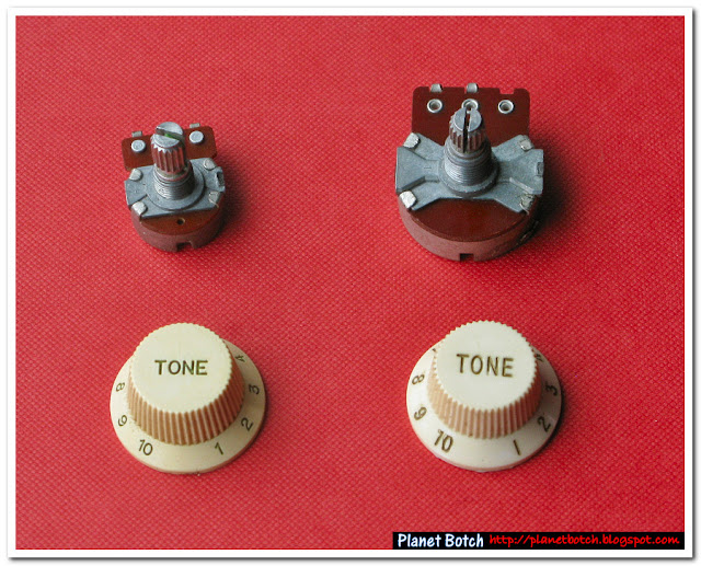 pots and knobs