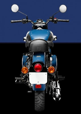 Royal Enfield Classic 350 rear view Red Hd Wallpapers