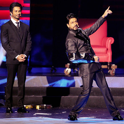 Shahrukh and Shahid at iifa