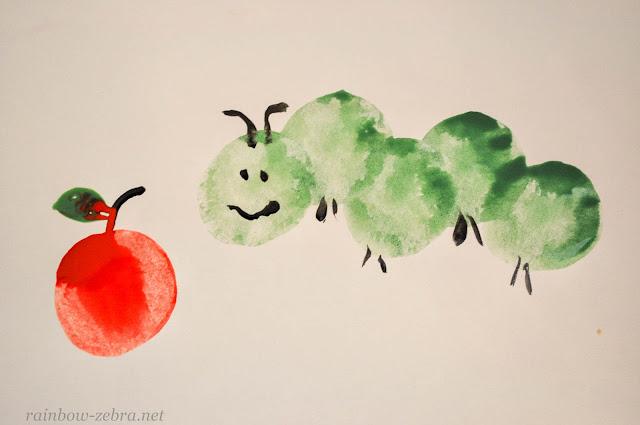 Яблоко для гусеницы