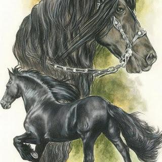 nuevas-pinturas-asombrosos-caballos dibujos-corceles-pinturas