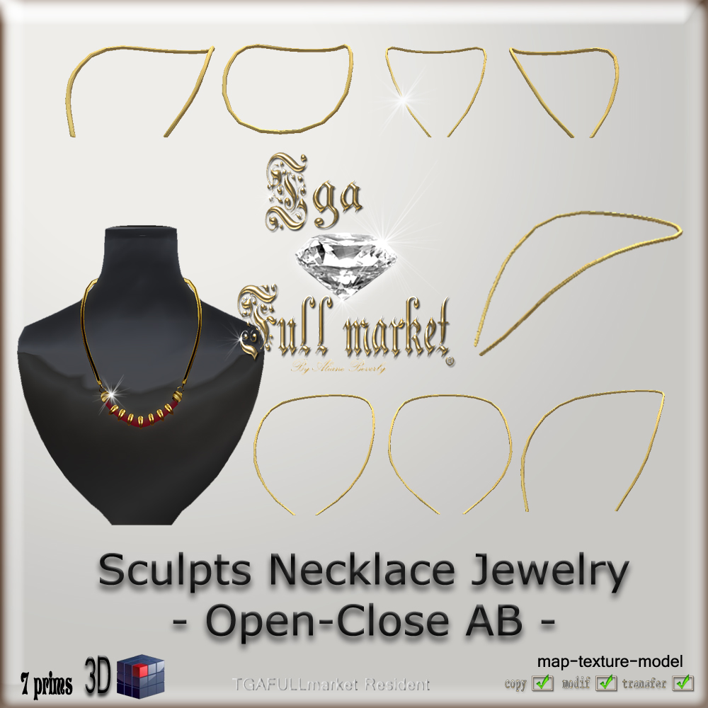 466cebcb1bf77 SCULPT JEWELRY and MORE *: Necklace, Choker, Armlet