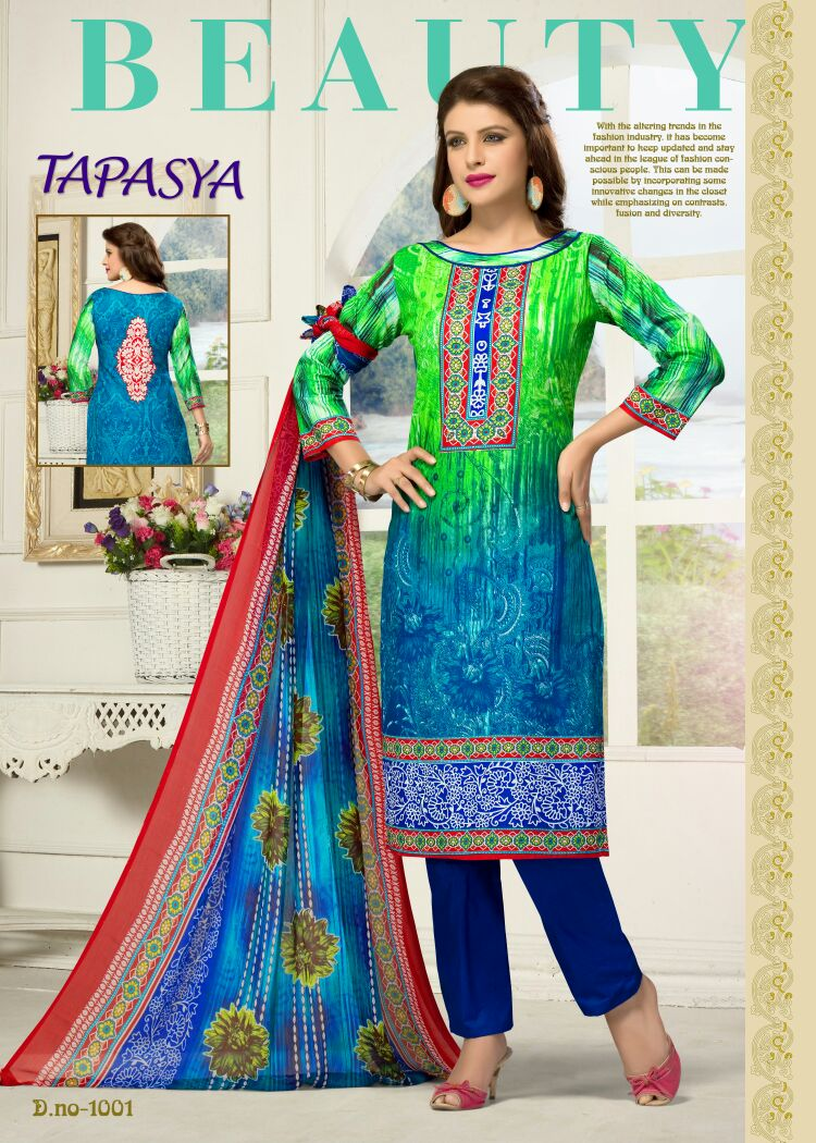 Tapasya – Pure Cotton Cambric Dress Material Wholesale Supplier