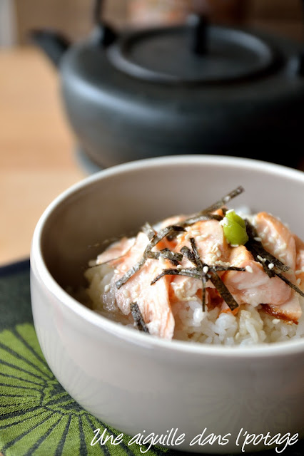 Ochazuke, riz au thé (お茶漬け) cuisine japonaise