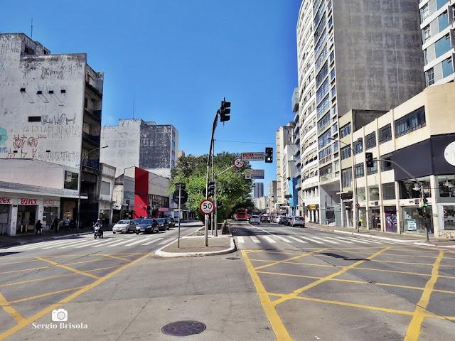 Vista de trecho da Rua da Consolação - Consolação - São Paulo