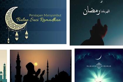 Pentingnya melakukan persiapan diri menjelang Ramadhan 2019