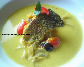 KERALA FISH MOILEE FINE DINING INDIAN PICTURE