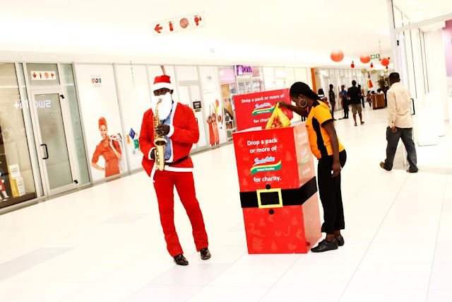 Indomie delights Christmas shoppers with ?Make the Difference? Campaign at Malls
