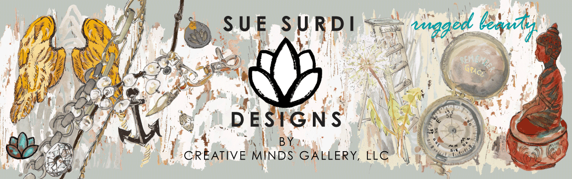 SUE SURDI and R.M.  DESIGNS