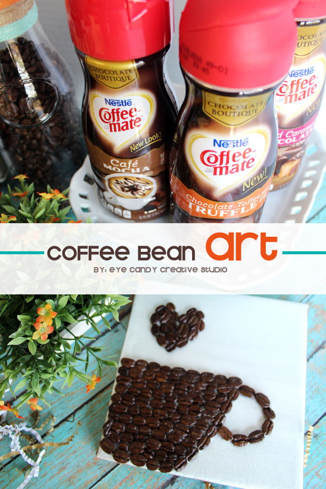 coffee bean art, nestle coffee-mate, coffee creamers, coffee gift basket
