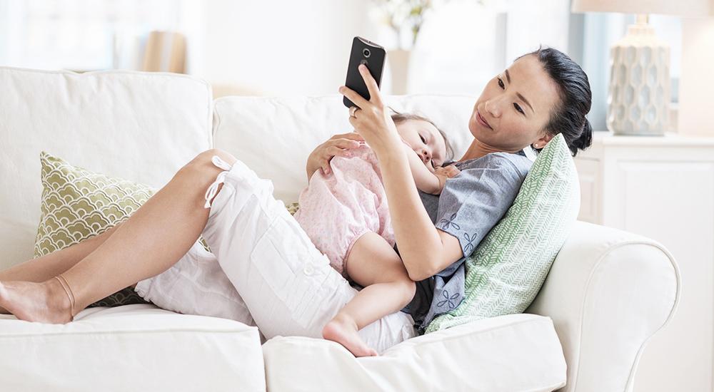 smartphones, parenting