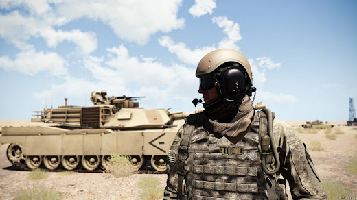 Arma3用現代軍MODのCVC-H D132B