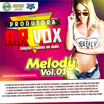 CD - MELODY VOL. 01 (ABR2016)