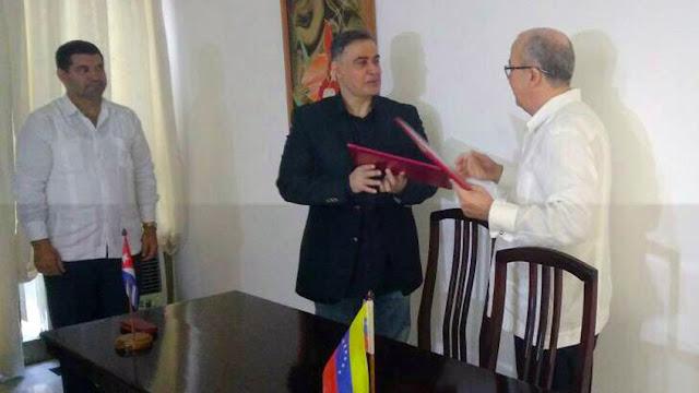 Fiscal General firmó convenio de cooperación interinstitucional con Fiscalía General de Cuba