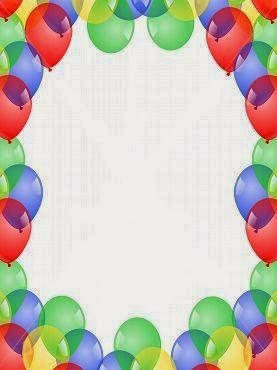 Ballons Free Printable Frames Toppers Or Labels Oh My