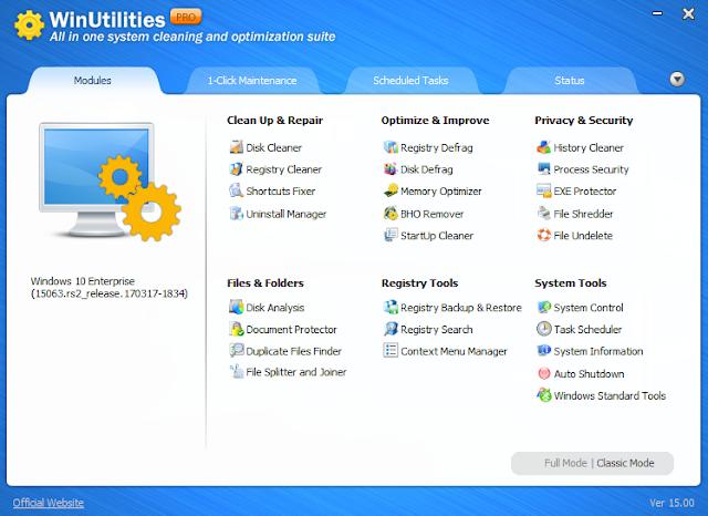 Winutilities pro 15 key full