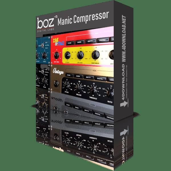 Download Boz Digital Labs - Manic Compressor v1.1.2 Full version