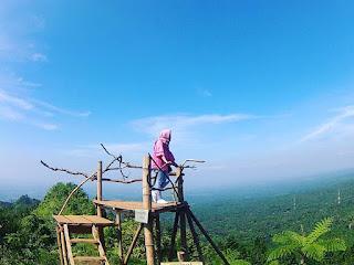 Rute Dan Lokasi Bukit Mertelu Purbalingga, Spot Ayunan Langit
