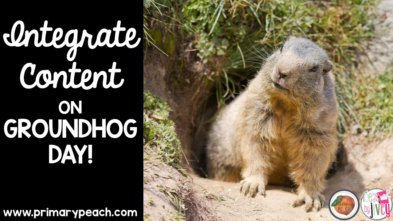 the primary peach integrate content on groundhog day