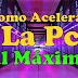 Como Acelerar La PC al MAXIMO Sin PROGRAMAS FÁCIL Y RÁPIDO