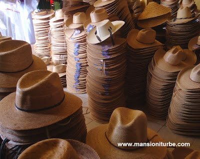 Plant-Fiber hats from Jaracuaro at Lake Patzcuaro Region