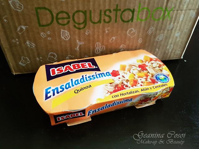 Isabel Ensaladíssima de Quinoa Degustabox Agosto ´17 - Vuelta al cole y al trabajo