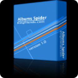 تحميل Albums Spider لتحميل الصور من اي موقع مع كود التفعيل Free Key