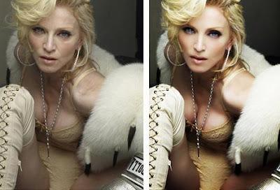 Madonna Fotoshop