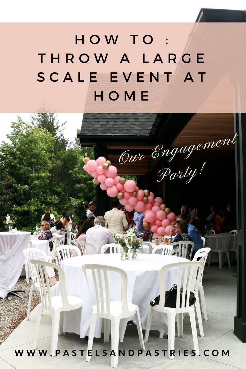 Pastels & Pastries Engagement Party, Wedding Prep, How to Throw A Large Scale Event, Gabpacifio