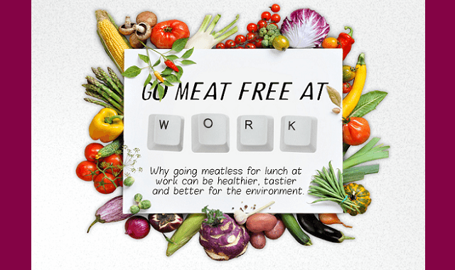 Go Meat free at Work