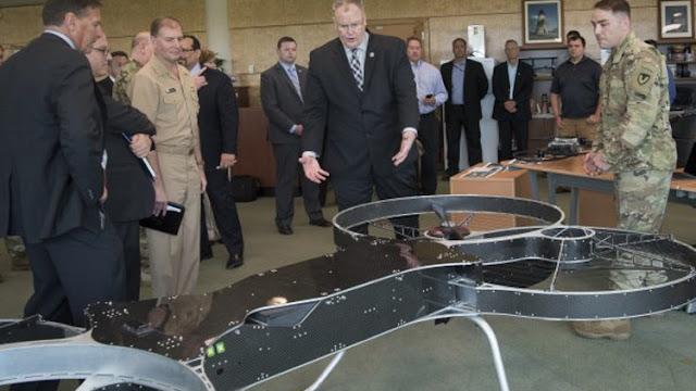 """Soldados de EE.UU. pronto podrían volar al combate como en """"La guerra de las galaxias"""""""