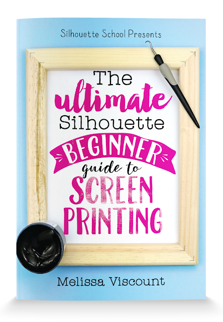screen printing with Silhouette cameo, silhouette cameo beginner tutorial, screen printing tips, screen printing vinyl tips, screen printing vinyl tutorial, silhouette cameo screen printing