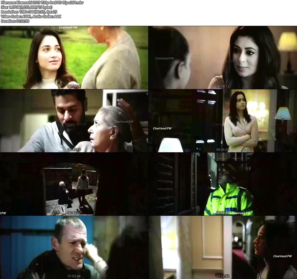 Khamoshi 2019 720p PreDVD Rip x264 | 480p 300MB | 100MB HEVC Screenshot