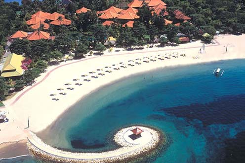 di Bali yang secara geografis terletak di ujung selatan TANJUNG BENOA BALI