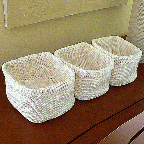 Crochet Baskets - Free Pattern